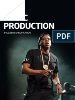 RSL Music Production Syllabus Guide Nov16