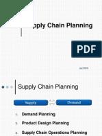 3. Supply Chain Planning - Jul2010