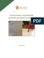 Estudo Sobre a Governacao Municipal Na Cidade de Maputo