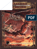 Deluxe Character Sheets DD3.5