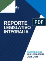 Reporte Legislativo 2015 2018 en México