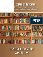 IPS PRESS Catalogue 2018-19