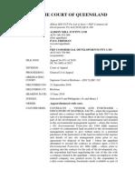 Albion Mill FCP Pty Ltd & Anor v FKP Commercial Developments Pty Ltd [2018] QCA 229