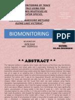 Activate Biomonitoring