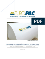 Informe CNMV 2016 Europac