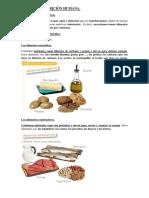 Tema 3. La Nutrición Humana