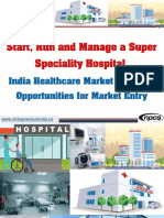 Start, Run and Manage a Super Speciality Hospital