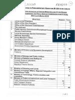 2310 fonctionnaires embauchés du 1er avril 2017 au 31 mars 2018 sans passer par la PSC