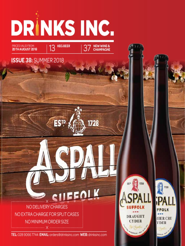 Issue 38 Summer 2018 New Wine Champagne 20th August 2018 Keg Beer Fermented Drinks Brewing Free 30 Day Trial Scribd