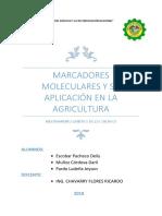 Marcadores Moleculares y Su Aplicación en La Agricultura