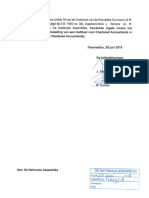Ontwerpwet Instituut Chartered Accountants - Suriname