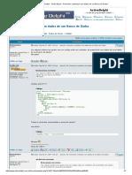 ActiveDelphi __ Exibir Tópico - Preencher Combobox Com Dados de Um Banco de Dados