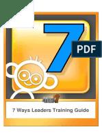 7ways Leader Guide to Children