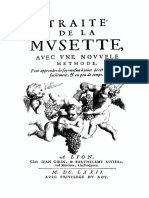 Traite de La Musette CharlesEmmanuel Borjon de Scellery