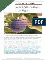 16. Las Fiestas de IHVH- Sukot- Los Higos