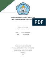 Proposal Kewirausahaan Arsitektur (Lamp Interior)