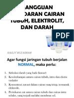 Patofisiologi Gangguan Sirkulasi Cairan Tubuh