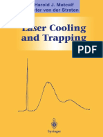 Metcalf laser cooling and trapping