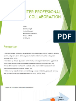 Inter Profesional Collaboration
