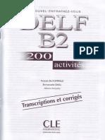 DELF B2 200 activités Corrige.pdf