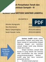 Konsep Dan Metode Sanitari Landfill