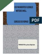 Diseño de Pavimentos Flexibles Metodo Shell.