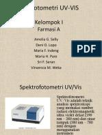 Kelompok I - Spektrofotometri UV-VIS
