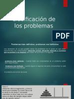 clasificacion de los problemas