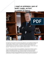 El Banco Le Negó Un Préstamo