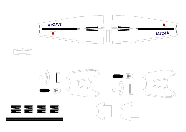 Dash8 Papercraft-Part3