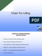 No. 8 - Chain & Chain Slings