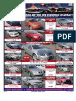Bob McDorman Chevrolet  - Issue 20