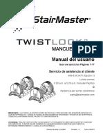StairMaster TwistLock KG Dumbbell RevA-Spanish 010-0098