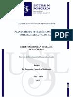 3 Planeamiento Estrategico Para La Empresa Marka Valor s.a.c Corregido (1) (3) (1)
