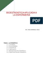 01 Bioestadistica Aplicada a La Enfermeria Curso Linea