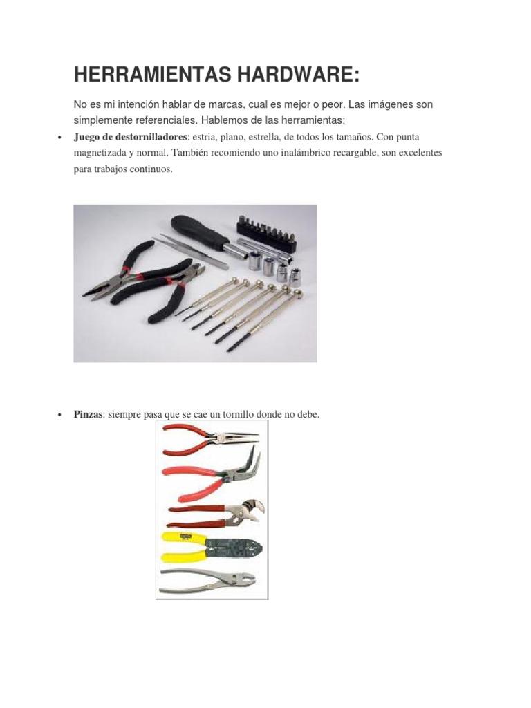 Herramientas Que Todo Tecnico de PC Debe Tener 803ee572d5d3