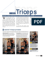 Body for Life Triceps Training