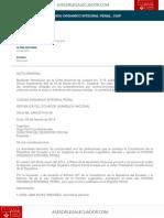 Codigo Organico Integral Penal Coip