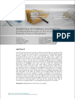 Forensic accounting article