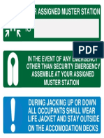 Muster Sign