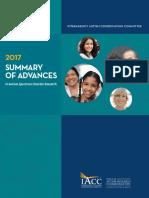 Summary of Advances 2017