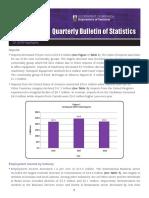 Quarterly Bulletin of Statistics - Q1 2018