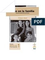 Guia Del Matrimonio Promotor PRIMER NIVEL