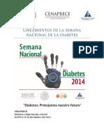 LineamientosSemanaNacionalDiabetes2014