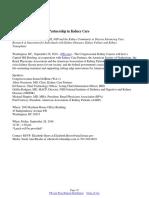 The Vital Public-Private Partnership in Kidney Care