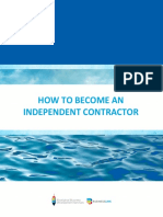 Independent contractor guide