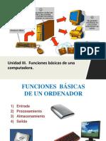 funciones basicas de una pc