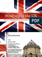 Defi Studying in the UK