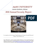 Annual Security Report