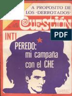 Inti Peredo - Mi campaña con el Che (Montevideo, Revista Question No. 0, Marzo de 1971)